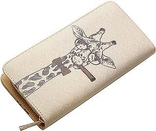 Woolala Unique Illustration Wallet Zipper Accordion Clutch Long Purse