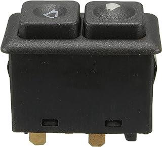 Czarny 5-pinowy podświetlany przełącznik okna mocy dla BMW E23 E24 E28 E30 BW102 613 113 812 05 Front