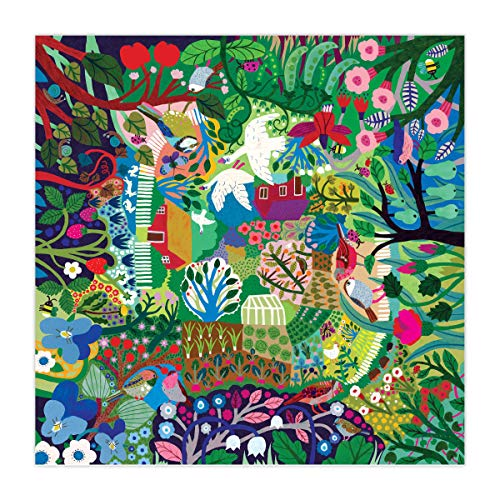 eeBoo Bountiful Garden Jigsaw Puzzle for Adults, 1000 Pieces