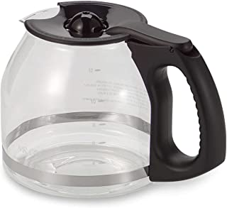 Mr. Coffee 12-Cup Replacement Decanter with Ergonomic Handle in Black