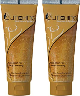 Cutishine Anti Acne Face Wash for Daily Cleansing 70 ml - Pack of 2