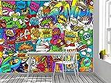Oedim Fotomural Vinilo Adhesivo Pared de Comic, Vinilo Adhesivo Decorativo para Habitaciones, decoración para Paredes, Vinilo Adhesivo