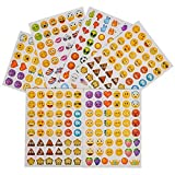 Playo Emoji Stickers - Kids Emoticon Play Stickers Assortment - Bulk Pack 72 Sheets 3,456 Stickers