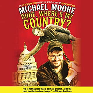 Dude, Where's My Country? audiobook cover art