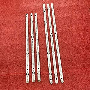 6 tiras de retroiluminación LED para LG Innotek 17Y 49LJ61/UJ65 49LH61 49UJ65 A B 49UJ651V 49LJ614V 49UJ650 49UJ635