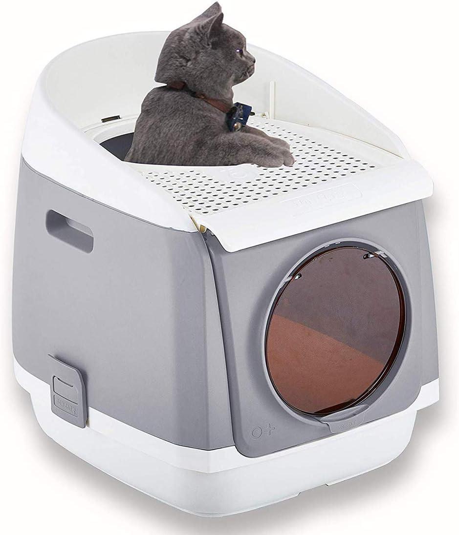 Japan Maker New PAKEWAY Hooded Cat Litter Pan Japan Maker New Fully Clean Easy Enclosed Toi