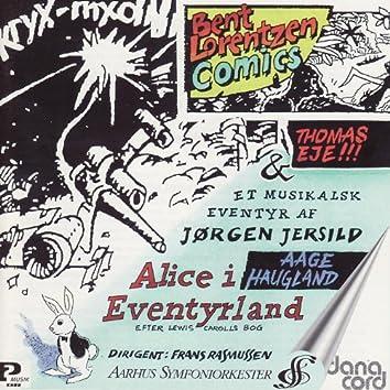 Jersild: Alice i Eventyrland / Lorentzen: Comics