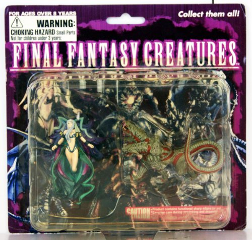 FINAL FANTASY - Creatures Assortiment bi-pack - Yunalesca & Cerb