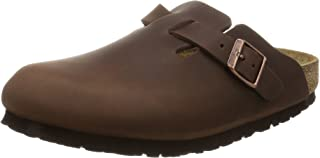 Birkenstock Boston - Zuecos de piel natural unisex