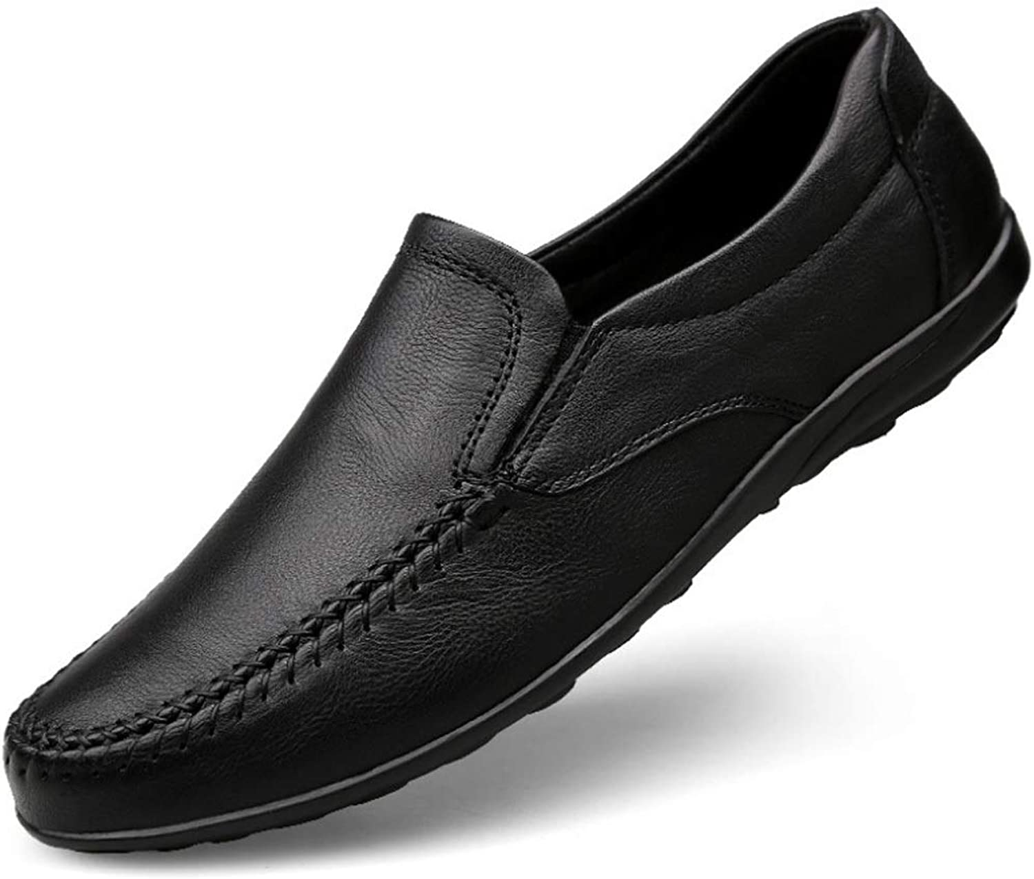 Men's Leather Low Cut shoes Comfort Flats Business shoes Driving shoes Loafer Flats Boat shoes Moccasin-Gommino