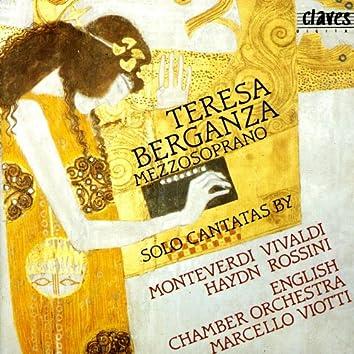 Solo Cantatas for Mezzo Soprano