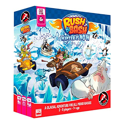 SD Games- Rush & Bash. Winter Is Now, Multicolor (SDGRGRUBA02)