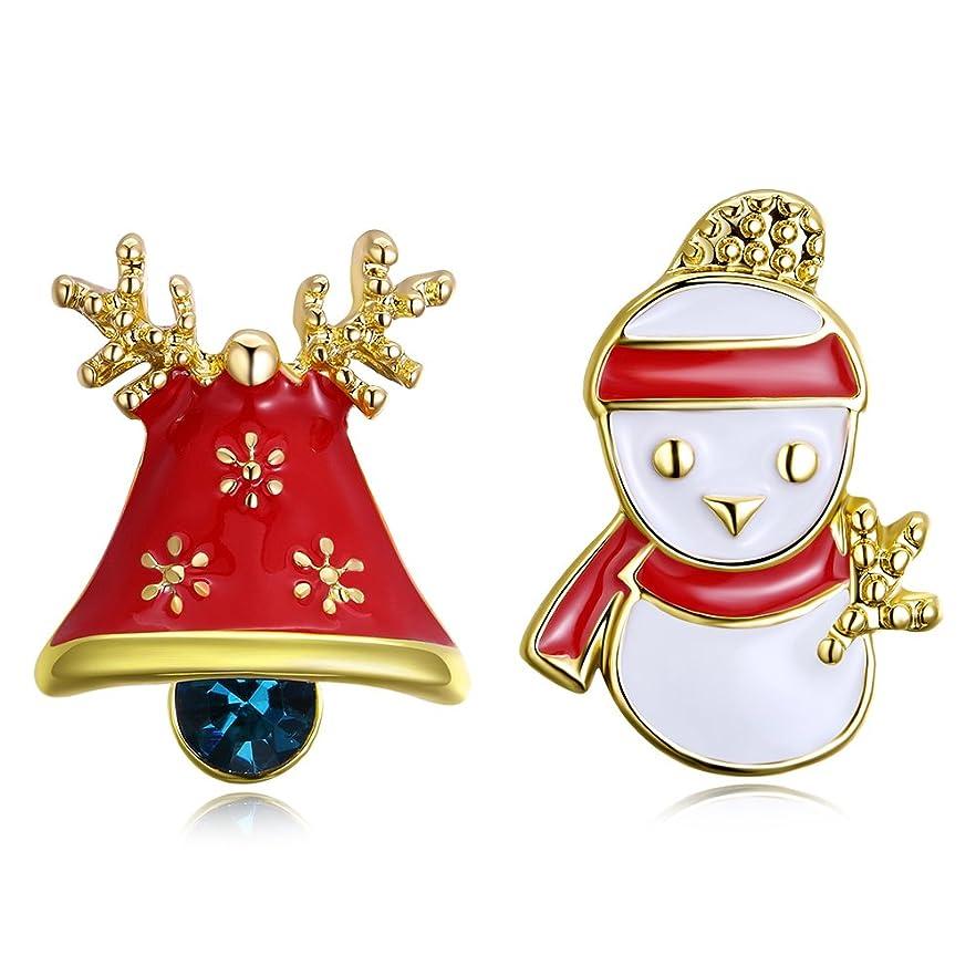 十二によると排気可愛い雪のイヤリング イヤリング クリスマスのプレゼント 気質 きれい アクセサリー