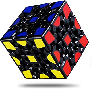 Wanby Magic Combination 3D Puzzle Gear Cube, 3x3 Match-Specific Speed Gear Cube Stickerless Twisty Puzzle