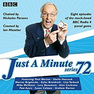 Just a Minute: Series 72 audiobook cover art