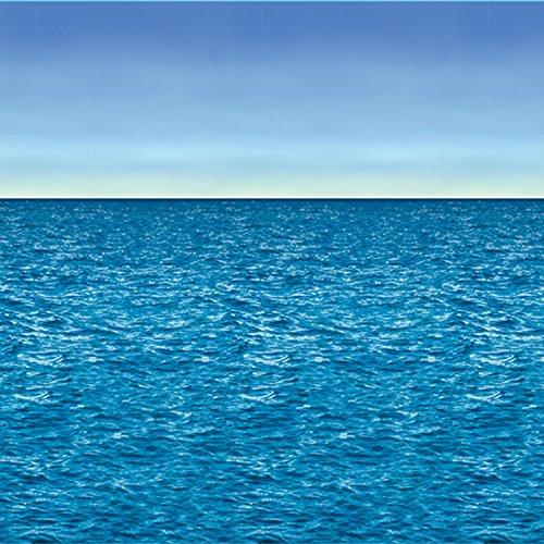 Beistle 52027 Ocean & Sky Hintergrund, Kunststoff, mehrfarbig