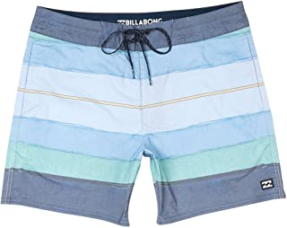 G.S.M. 欧洲 - Billabong 男士 Stringer Resin Lt 16 游泳短裤
