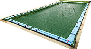 Blue Wave Silver 12-Year 30-ft x 50-ft Rectangular In Ground Pool Winter Cover
