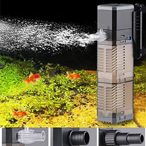 LONDAFISH Aquarium Filter 3-in-1 Aquarium Tauchpumpe Wasserpumpe für Aquarium 8W 20W 25W (CHJ-902 / 8W)