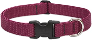 Eco by Lupine 1-inch for Recycled fibre Collar, Adjustable 12 to 20-inch for Large Dogs, Berry