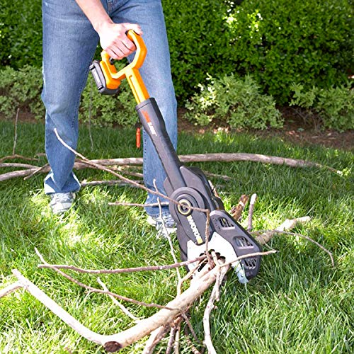 WORX WG320 20V Power Share Cordless 6-inch JawSaw Chainsaw with Auto-Tension