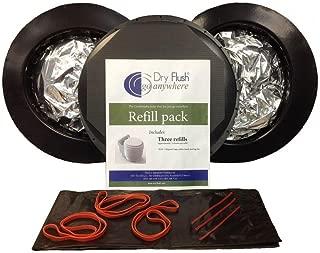 Dry Flush Refill Cartridges (3-Pack)
