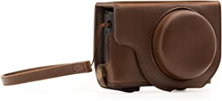 MegaGear Ever Ready Leather Camera Case Compatible with Panasonic Lumix DMC-LX10