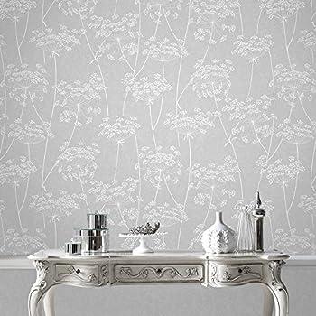 Graham & Brown 33-304 Aura Grey Wallpaper Gray