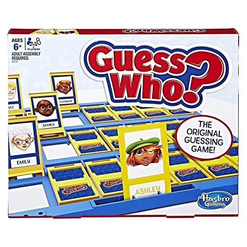 Hasbro Gaming - ¿Quién Es Quién?, Juego de Habilidad (05801) (versión en inglés)