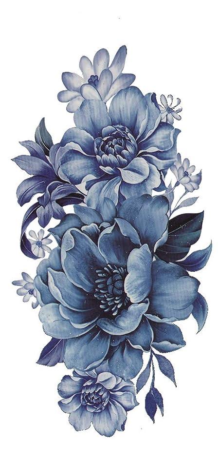うつさらにバラバラにする(ファンタジー) THE FANTASY タトゥーシール 花 フラワー Flower-1【レギュラー】-7種類