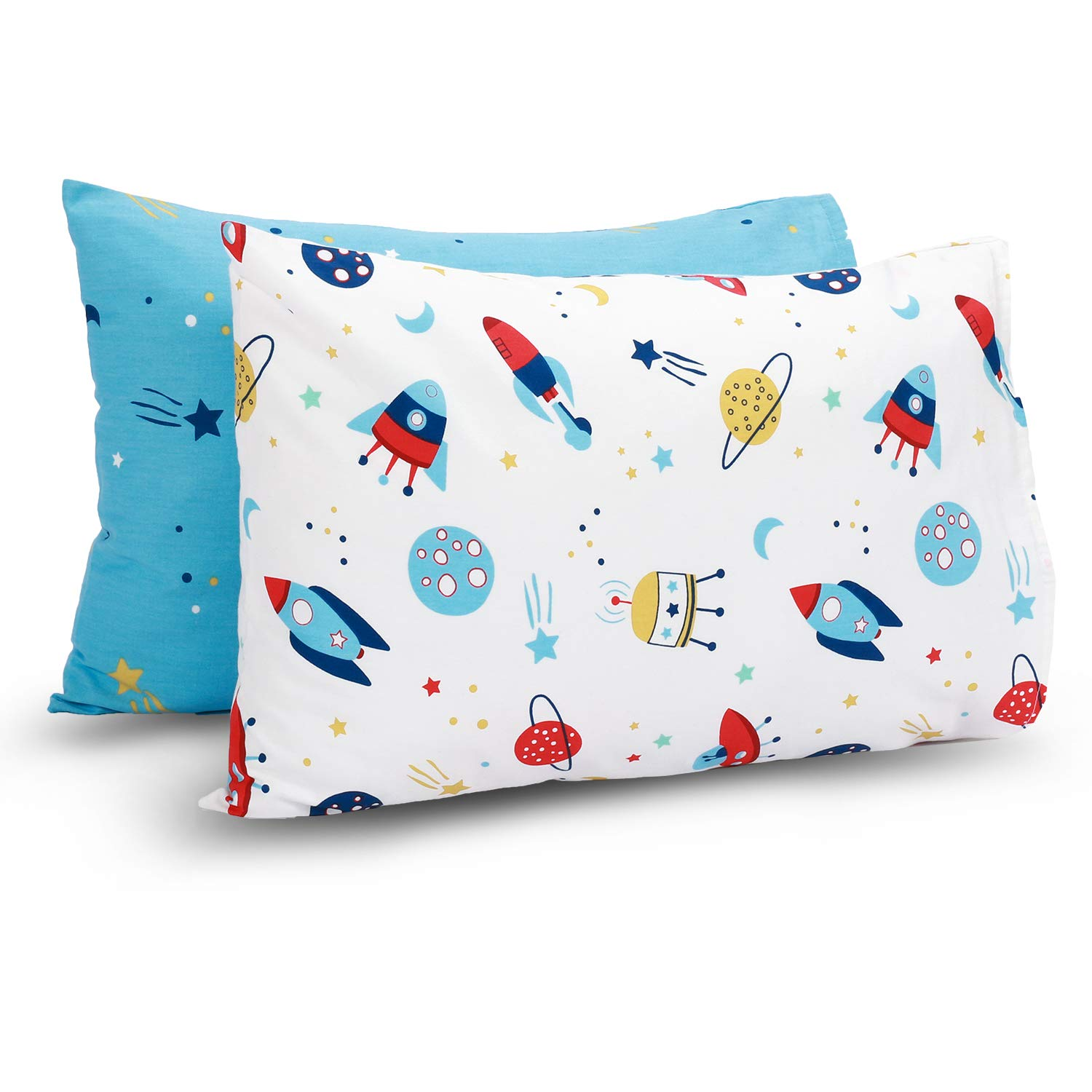 TILLYOU Cotton Collection Max 83% OFF Breathable Outstanding Toddler Pillowcases Set of