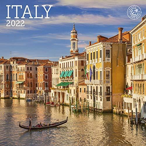 "Italy Mini Wall Calendar 2022, 7"" x 7"""