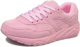 BalaMasa Womens APL12407 Comfort Light-Weight Closed-Toe Pink Pu Fashion Sneakers - 4.5 UK (Lable:38)