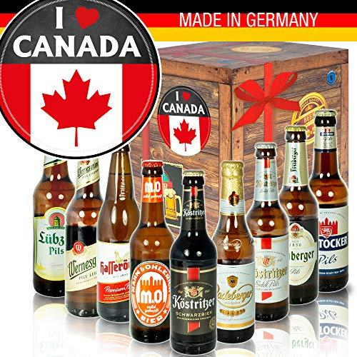 I love Canada/Bier der DDR/Kanada Geschenkbox