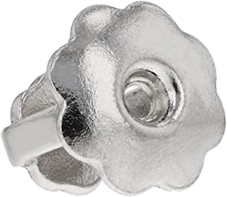 Sterling Silver Single Replacement Back for Screw-Back Stud Earrings