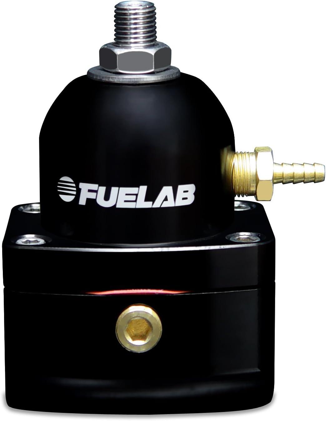 Fuelab cheap 51503-1 Universal Black Fuel Carbureted Very popular Pressu Adjustable