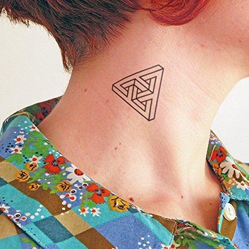 Eschergram - 2 Temporäre Tattoos