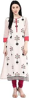 Rangmanch by Pantaloons Women's Cotton Flex Straight Kurta