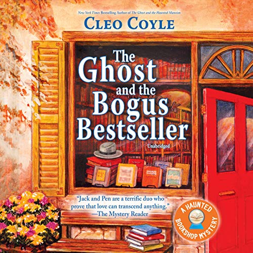 The Ghost and the Bogus Bestseller audiobook cover art
