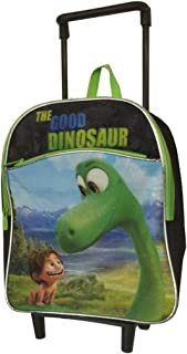 Disney the Good Dinosaur Rolling Backpack with Wheels Small Blue