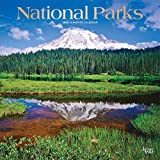 National Parks 2020 12 x 12 Inch Monthly Square Wall Calendar with Foil Stamped Cover, USA United States of America Scenic Nature (English, French and Spanish Edition)
