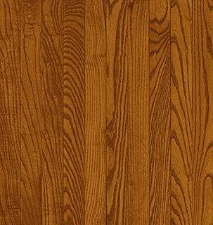 Bruce Hardwood Floors CB211 Dundee Strip Solid Hardwood Flooring, Gunstock