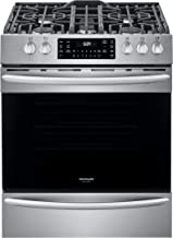 """Frigidaire FGGH3047VF 30"""" Gallery Series Gas Range with 5 Sealed Burners, griddle, True Convection Oven, Self Cleaning, Ai..."""