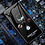 Iphone 用ケースファッション性格輝く携帯電話ケースTPUソフトエッジ+強化ガラス耐衝撃性360°保護頑丈な ワイヤレス充電には影響しません,9,11 pro max