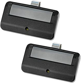 2 for Chamberlain/LiftMaster/Craftsman Garage Door Opener Remote Control 891LM (Yellow Learn)