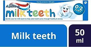 Aquafresh Baby Toothpaste, Milk Teeth Toothpaste for Kids 0-2 Years, 50 ml