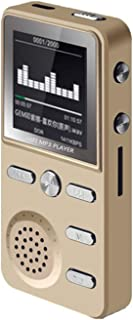Metal /8GB/ MP3 Player Lossless, HiFi /MP3 /Sport/Music/Multifunction FM/Clock Recorder,Loudly Stereo Players,with USB Cab...