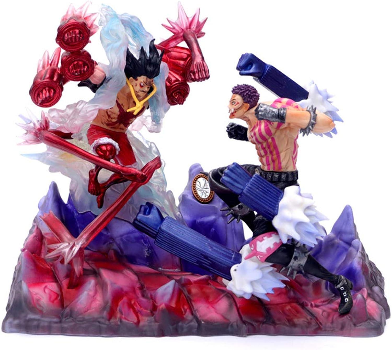 el precio más bajo Qdegui Figura de acción 26 cm cm cm One Piece Modelo PVC de Juguete Charlotte Katakuri VS Luffy Estatua Regalo Juguetes Infantiles  alta calidad y envío rápido