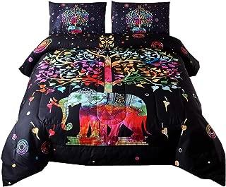 Best boho elephant comforter set Reviews