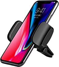 Cell Phone Holder for Car, 360 Rotation Universal Air Vent Car Phone Mount for iPhone x/iPhone 8/7/7 Plus, Samsung Galaxy S7/S6 edge/S8/S9 and Universal Smartphones GPS and More-black (vision 2)
